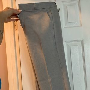 Banana Replublic Gray Logan trouser sz 10